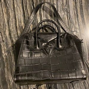 Givenchy medium Antigona bag in croc style leather